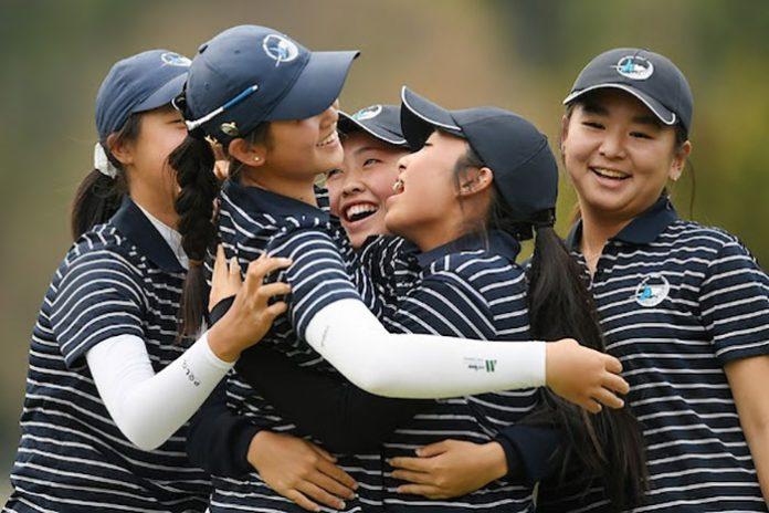 Auckland's Successful Women's Interprovincial Team (NZ Golf) Gender Equality