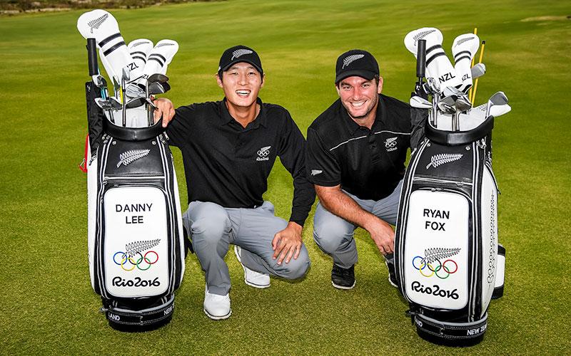 Danny Lee and Ryan Fox