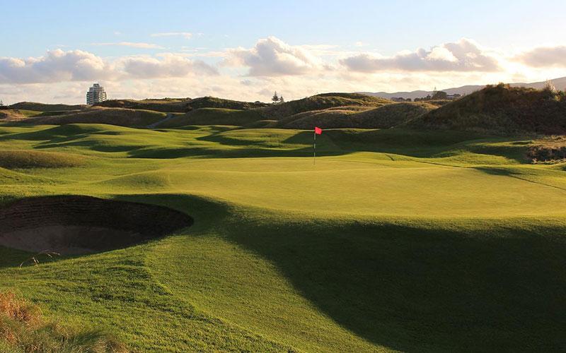 Paraparaumu Beach Golf Club Top 40 NZ Golf Courses Number 7