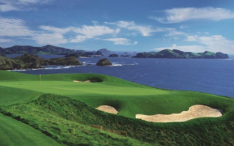 Kauri Cliffs Top 40 NZ Golf Clubs Number 6