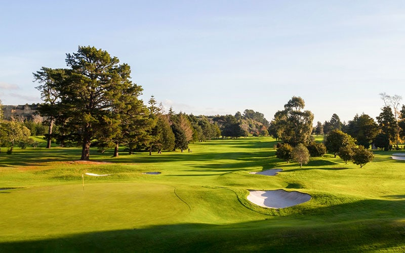Manawatu Golf Club NZ Top 40 Number 18