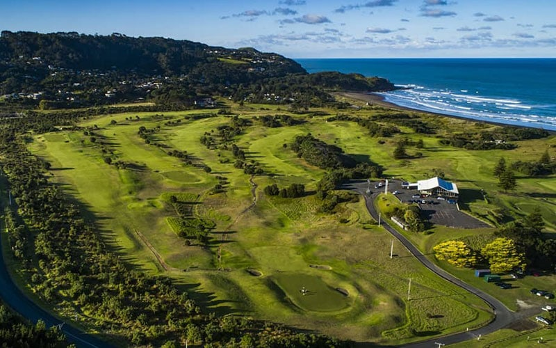 Muriwai Golf Club NZ Top 40 Number 12 - COVID 19