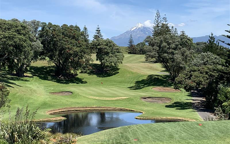 New Plymouth Golf Club NZ Top 40 Number T19
