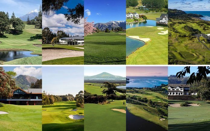 New Zealand Top 40 Golf Courses - Number 20 to 11