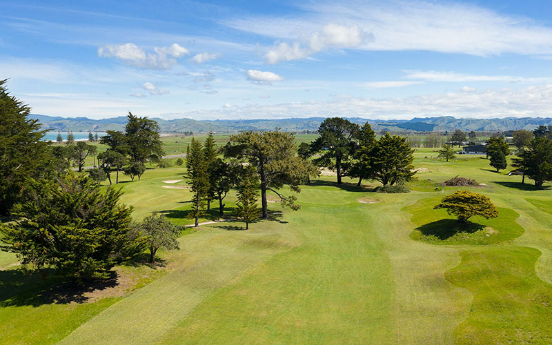 Poverty Bay Golf Club (Website) Top 40 New Zealand Golf Courses - Number 32