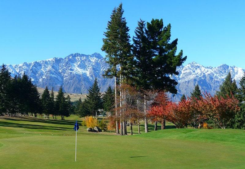 Queenstown Golf Club (Facebook) Top 40 New Zealand Golf Courses - Number 34