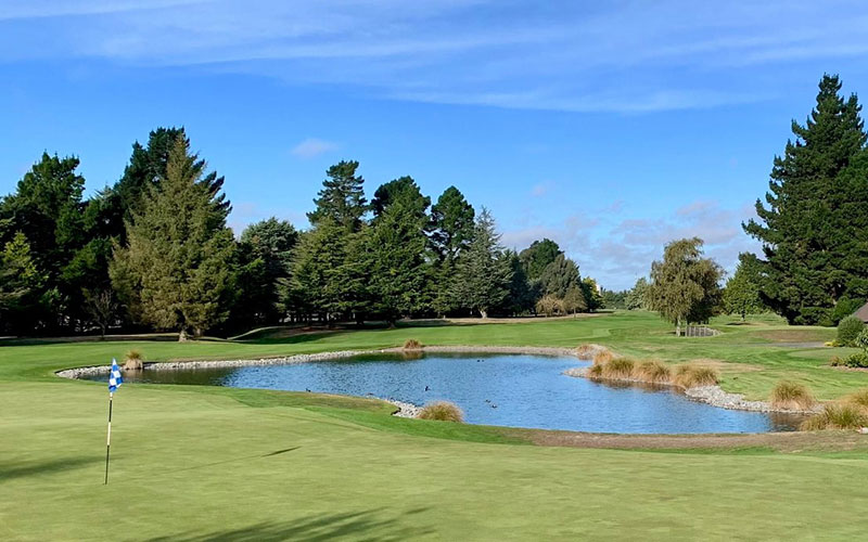 Russley Golf Club (Facebook) Top 40 New Zealand Golf Courses - Number 40