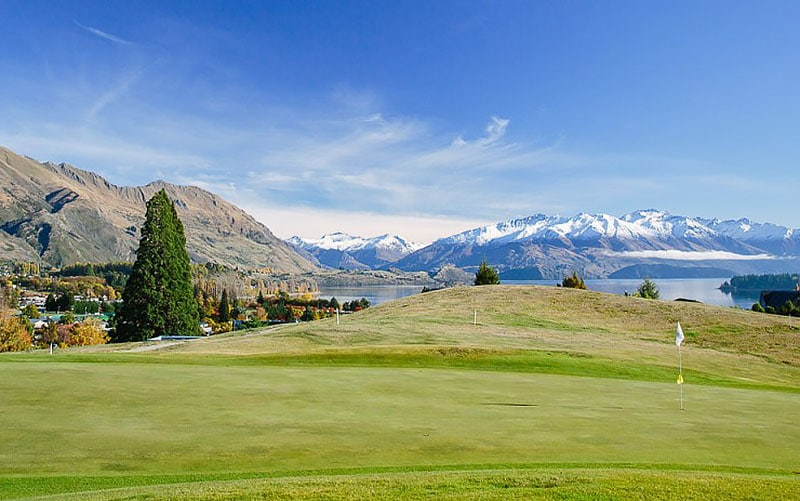 Wanaka Golf Club (Website) Top 40 New Zealand Golf Courses - Number 37