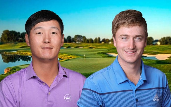 Solid weekend for Danny Lee and Nick Voke