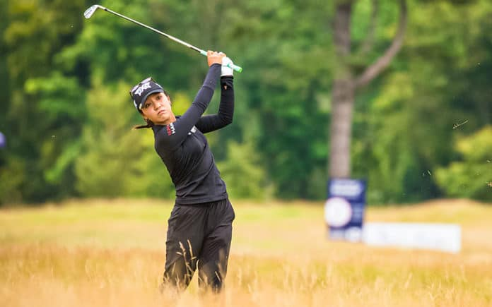 Lydia Ko in the final round of the Aberdeen Standard Investments Ladies Scottish Open (Photo: Tristan Jones)