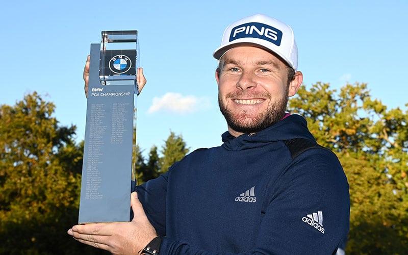 BMW PGA Championship Final Round - Tyrrell Hatton with Trophy (European Tour)