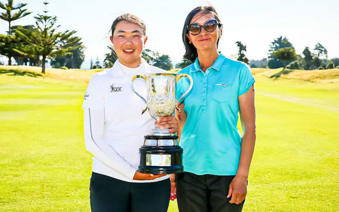 Fiona Xu wins NZ Amateur Championships