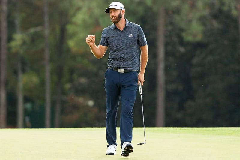 Dustin Johnson (Supplied by Hublot) Masters