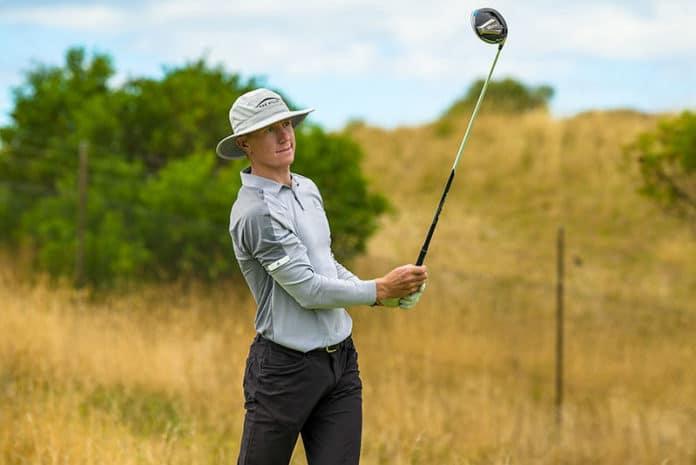 James Anstiss on Day 3 of the Vic PGA at Moonah Links in Victoria. (Photo: PGA of Australia)