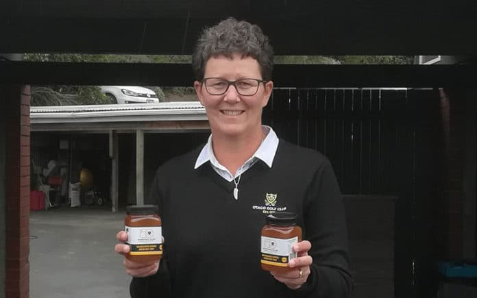 Shelley Duncan and her honey (Supplied)