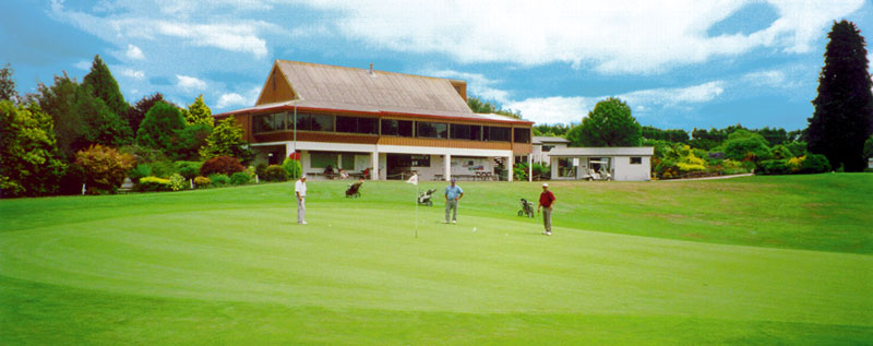 Te Puke Golf Club clubhouse (Club website)
