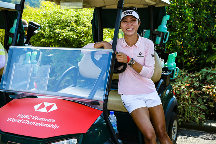 Lydia Ko takes time out to support Sentosa Golf Club's environmental sustainability efforts (Getty Images)