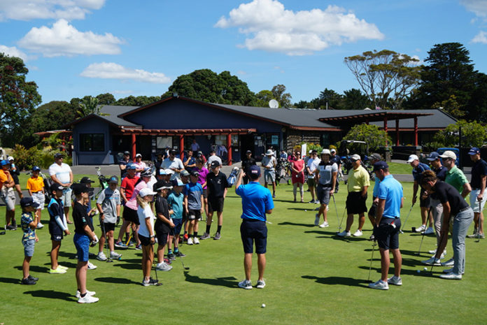 Juniors at Mount Maunganui Club (Supplied)
