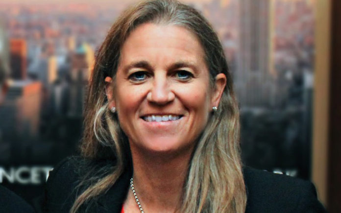 Newly elected LPGA Commissioner Mollie Marcoux Samaan