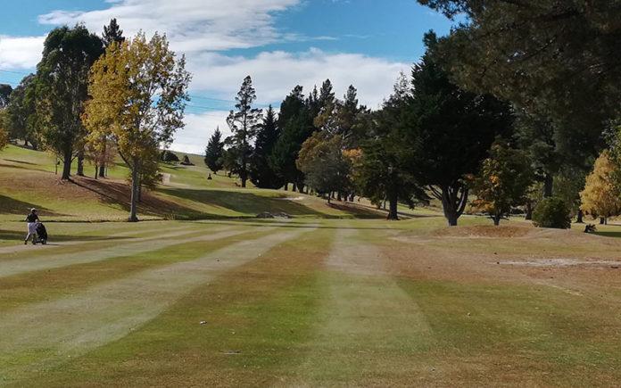 Taieri Lakes Golf Club First Hole (Supplied)