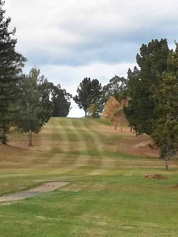 Taieri Lakes Golf Club - Approach to the new par4 8th (Supplied)