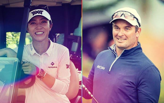 NZ 2020 Tokyo Olympic Games Golf Team - Lydia Ko and Ryan Fox
