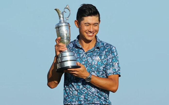 The 149th Open Champion Collin Morikawa (Twitter)